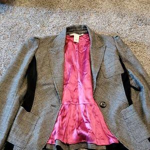 Diane von Furtstenberg Houndstooth jacket